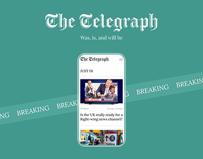 The Telegraph / News portal