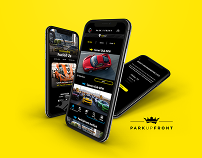 ParkUpFront App Redesign