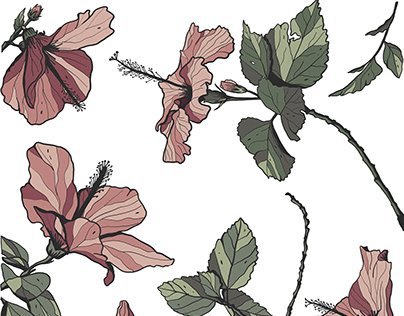 Vector Floral Illustration