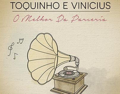 Toquinho e Vinicius / Erasmo Carlos - Capas dos singles