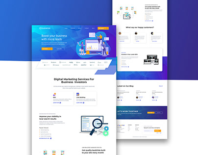Elevated: Digital Marketing Agency Website Design