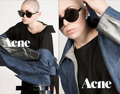 Mock Acne Studios Fashion Advertisement
