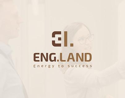 ENG.LAND - logo design & Branding