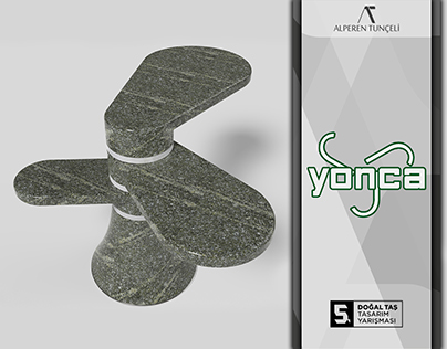 Yonca Stone Stand