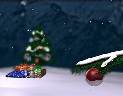 New year advertising animation.