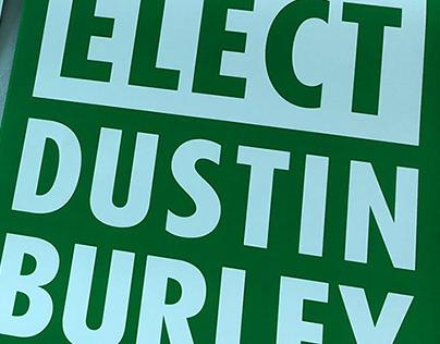 dustin burley campaign 2018