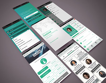 iiMERGE Business Matching App - UI/UX Design