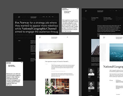 Newslab - Website