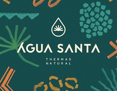 Água Santa Thermas Natural