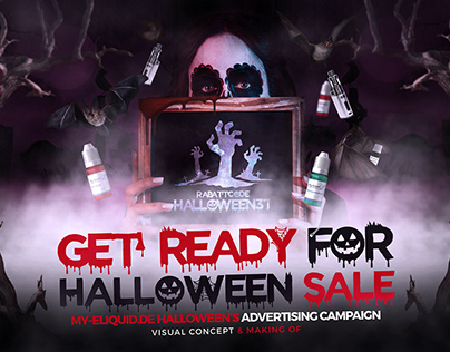 my-eLiquid.de Halloween's Advertising Campaign