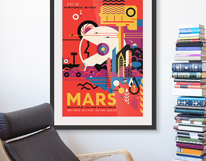 Room Ideas with Vintage Art from Great BIG Canvas