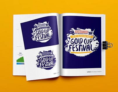 Gold Cup Festival Logo & Branding