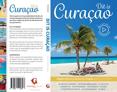 Cover design Travelguide to Curaçao