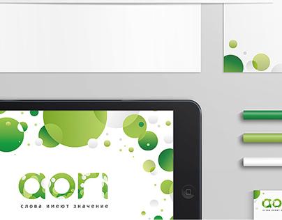 Corporate identity of «Aori»