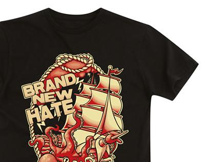 BRAND NEW HATE - T-shirt