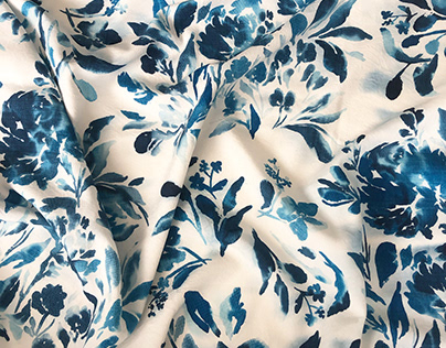 Floral Project for Soft Furnishings