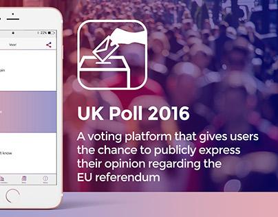 Voting Platform App Design for UK Referendum 2016