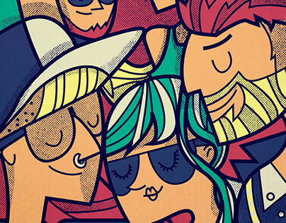 Poster illustration artwork