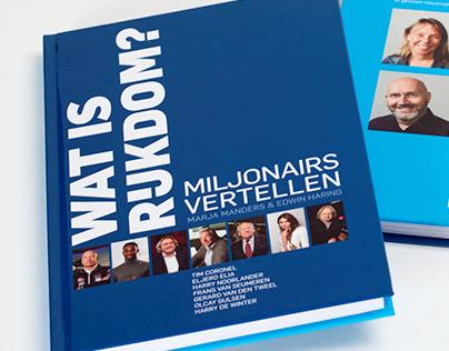 """Book Design """"Wat is Rijkdom"""""""