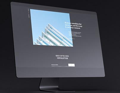 Dark iMac Mockup