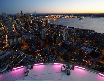 Brand Content: Seattle Space Needle New Years Fireworks