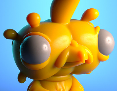Birfy Resin Figure