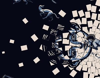 """2023"" a graphic novel by Aya Korem & Shay Ringel"