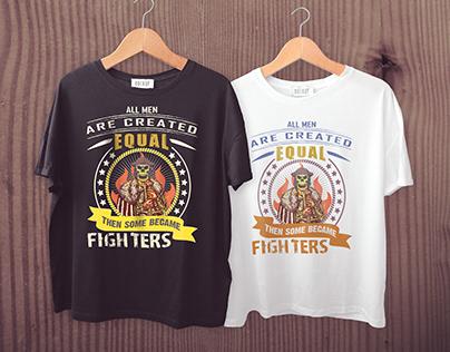 Fighter T shirt