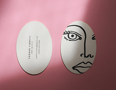 Business Card and Face Chart