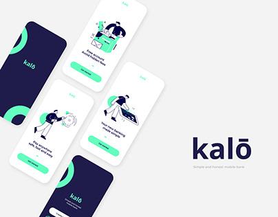 Kalō bank - Onboarding