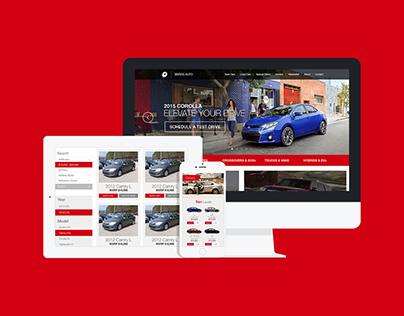 Automotive Inventory Page Concepts