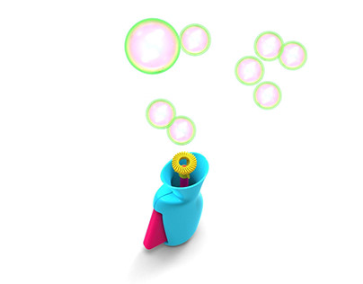 One handed Bubble maker Toy