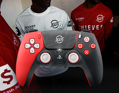 100 Thieves: PS5 DualSense Esports Edition Controller