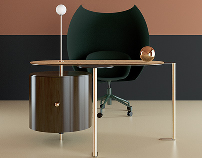 BUREAU19 TABLE BY RUBASHENKA