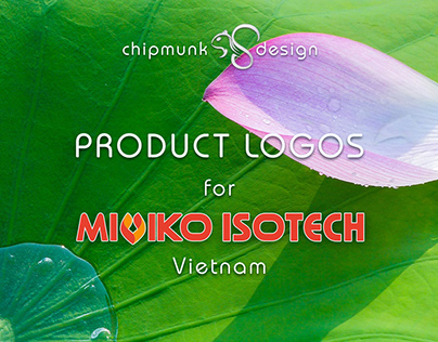 """Product LOGOs for """"MIVIKO ISOTECH"""" - part 2"""
