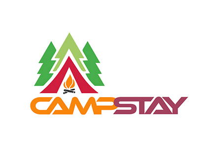 Logo design for camping company