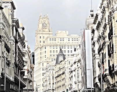 #GranVia Madrid