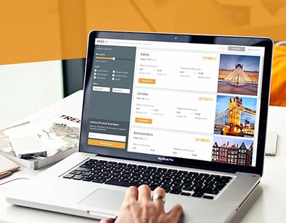 Utaz.ni website design