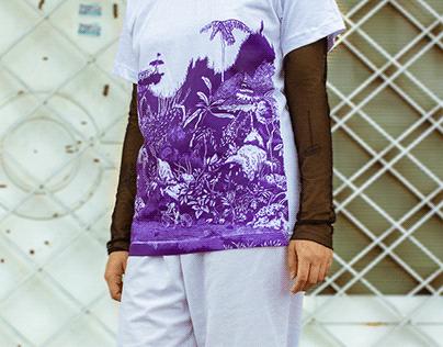 Biela//Rod (T-shirts )