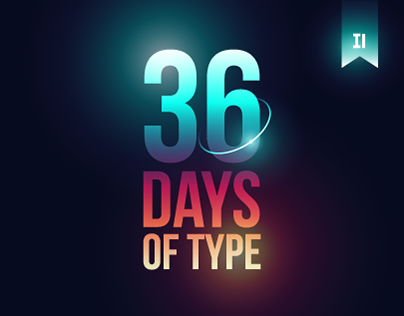 36 Days of Type 03 - 2016