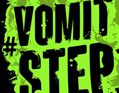 Snails - #Vomitstep T-shirt