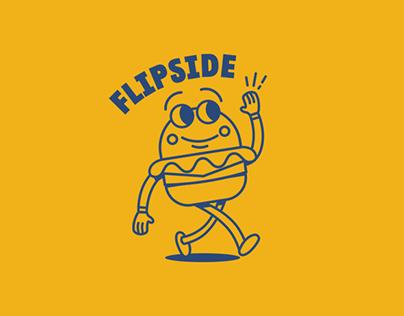 Flipside Burgers - Logo Creation