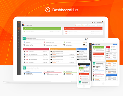 DashboardHUB | Angular Material Design