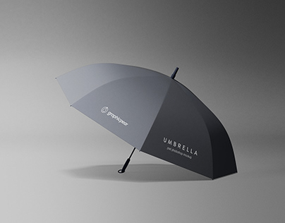 Simple Umbrella Mockup