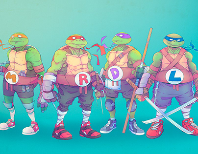 TMNT - Teenage Mutant Ninja Turtle - Concept/Redesign