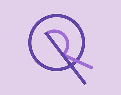 QR Monogram Logo
