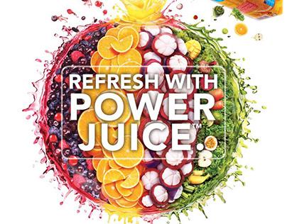 Marigold Power Juice Campaign
