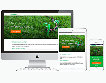 Coding a responsive landing page style site