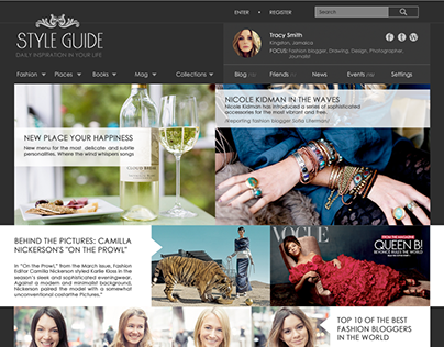 Style Guide / Adaptive website