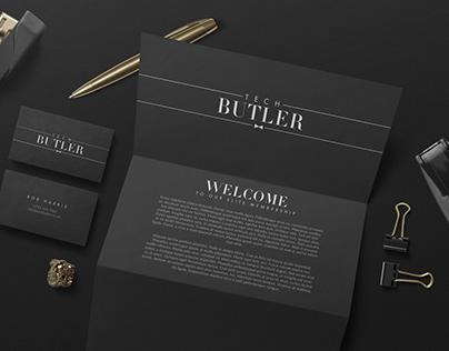 TECH BUTLER – BRAND IDENTITY DESIGN